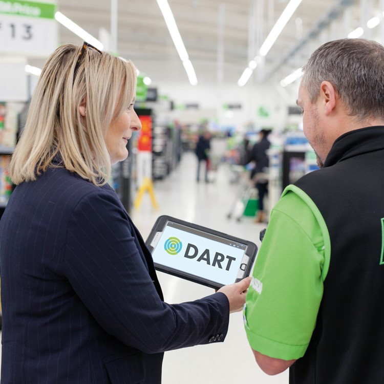 DART Tablet In Store